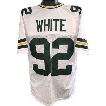 buy online ff63d 9c7af Reggie White unsigned White TB Custom Stitched Pro Style Football Jersey XL