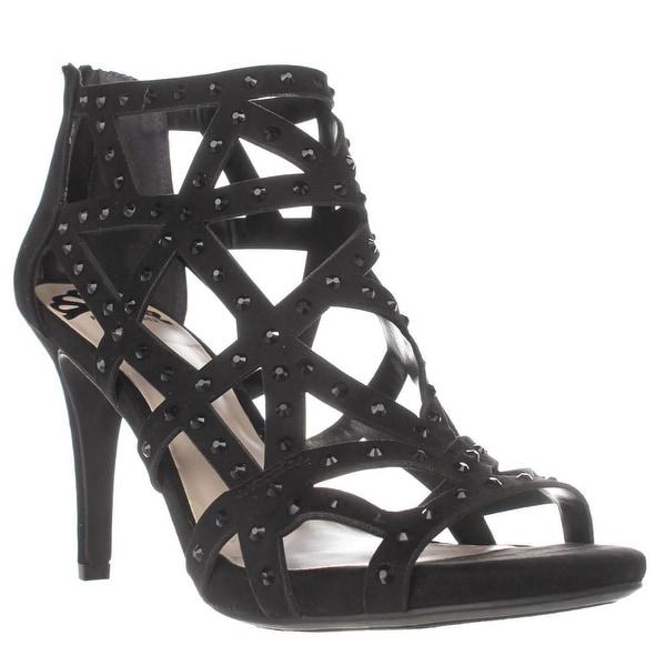 Fergalicious Histeria2 Studded Strappy Sandals, Black