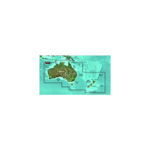 Garmin BlueChart g2 HD - HXPC024R (microSD/SD Card) Australia And New Zealand Digital Map - Multicolor
