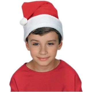 Childs Classic Santa Hat Child Costume Accessory