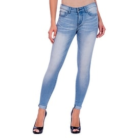 Lola Jeans Blair-SSB, Mid Rise Ankle Jeans With 4-Way Stretch Technology