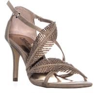 Carlos by Carlos Santana Frisco Feather Wrap Dress Sandals, Kork - 7 us / 37.5 eu