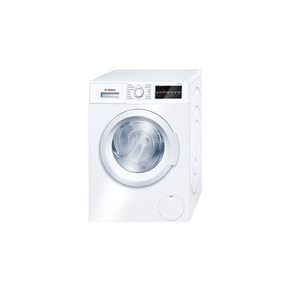 Bosch WAT28400U 24 Inch Wide 2.2 Cu. Ft. Energy Star Rated Front Loading Washer with EcoSilence Motor
