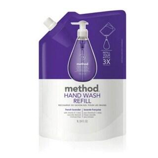 Method 00654 French Lavender Gel Hand Wash Refill, 34 oz
