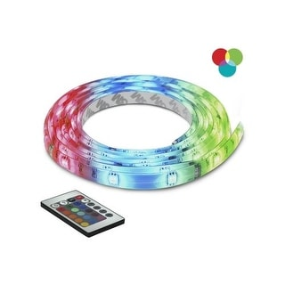 Bazz Lighting U00035RG LED Series 90-Light Multi-Color Under Cabinet LED Tape, Includes Multi-Function Remote Control - rgb