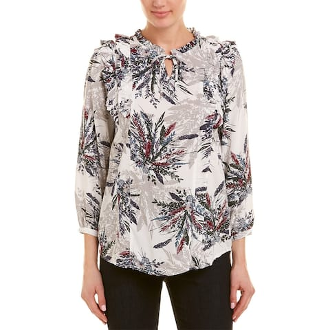 Abs Collection Blouse - FALL BOUQUET PRINT