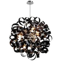 Artcraft Lighting AC602BK Bel Air 12 Light Pendant - Black