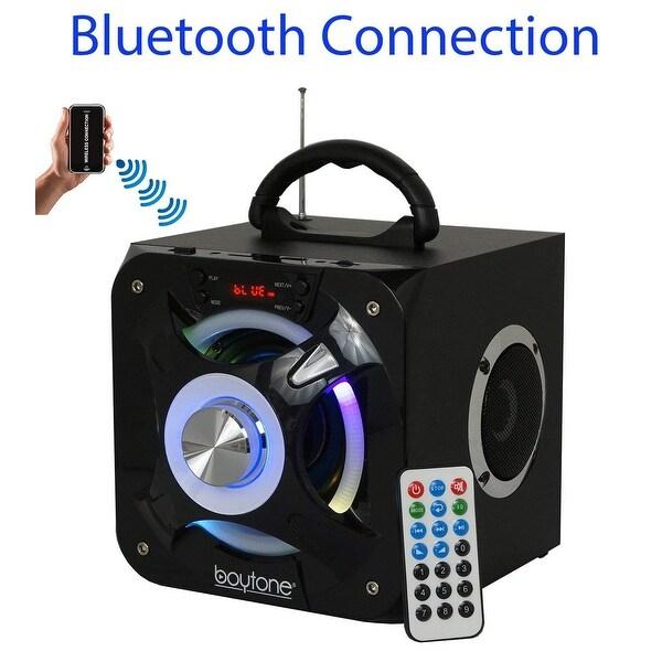 Boytone BT-32D Portable Bluetooth FM Radio Stereo speaker System, USB Port