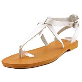 White Mountain Garden Women  Open Toe Synthetic  Thong Sandal