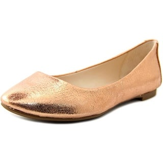 Alfani Gessey Women  Round Toe Synthetic Gold Flats