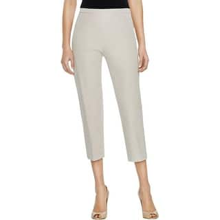 Elie Tahari Womens Alyssa Dress Pants Twill Side Zipper|https://ak1.ostkcdn.com/images/products/is/images/direct/6d8d1c363ac0dddca198ada43b0777b3a3e12442/Elie-Tahari-Womens-Alyssa-Dress-Pants-Twill-Side-Zip.jpg?impolicy=medium