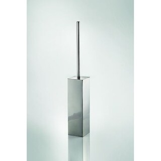 WS Bath Collections Skoati 50051 Skoati Square Toilet Brush Holder