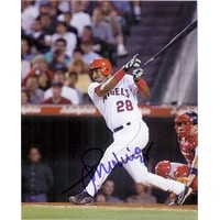 Signed Molina Jose Los Angeles Angels 8x10 Photo autographed