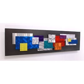 Statements2000 Multicolor Metal Wall Art Sculpture Accent