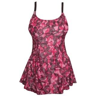 Funfash Plus Size Swimsuit Pink Black Bathing Suit Tankini Swimwear (4 options available)