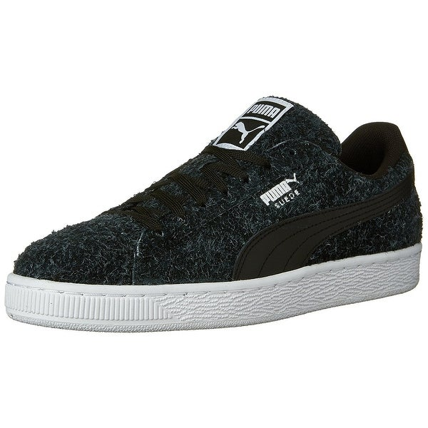 PUMA Womens Elemental Suede Low Top Lace Up Fashion Sneakers