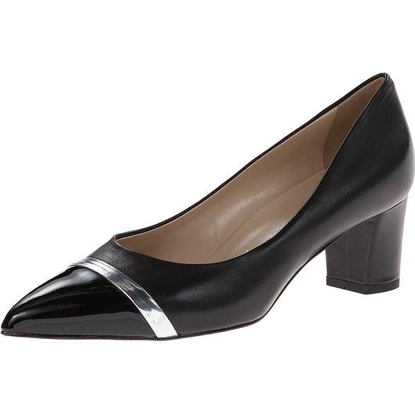 Ron White NEW Black Women's Shoes Size 8M Bonita Leather Pump