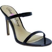 Penny Loves Kenny Women's Derby Stiletto Slide Black Patent Polyurethane