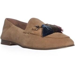 Nine West Weslir Flat Tassel Loafers, Brown/Brown - 9 us