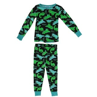 Dead Tired Children's Dinosaur Print Pajamas