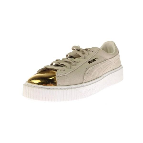 9c1f15165ce Shop Puma Womens Fashion Sneakers Suede Metallic - Free Shipping On ...