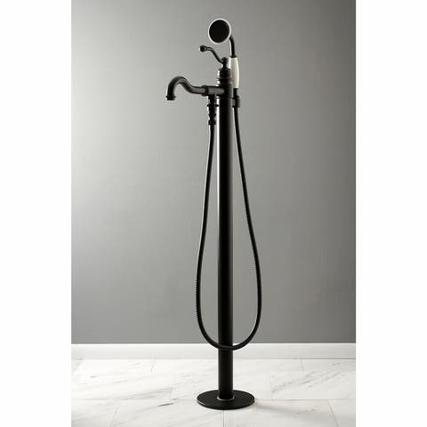 English Country Freestanding Tub Faucet with Hand Shower