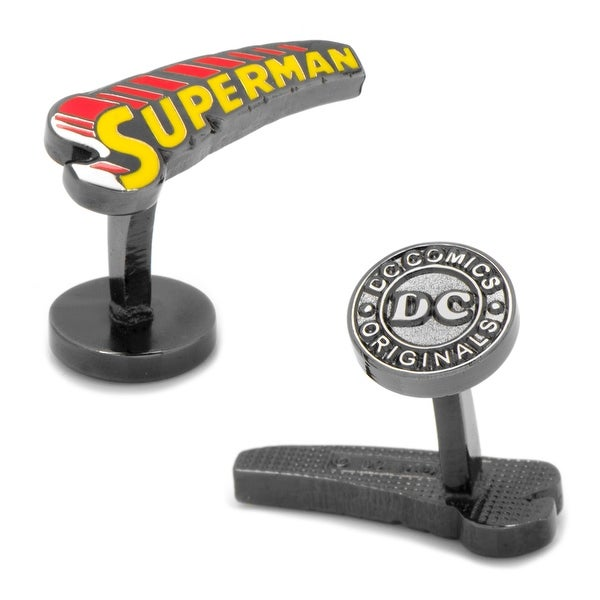 Vintage Superman Comic Book Cufflinks