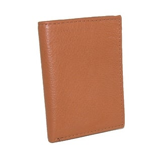 CTM® Men's Leather RFID Protected Trifold Wallet - One size