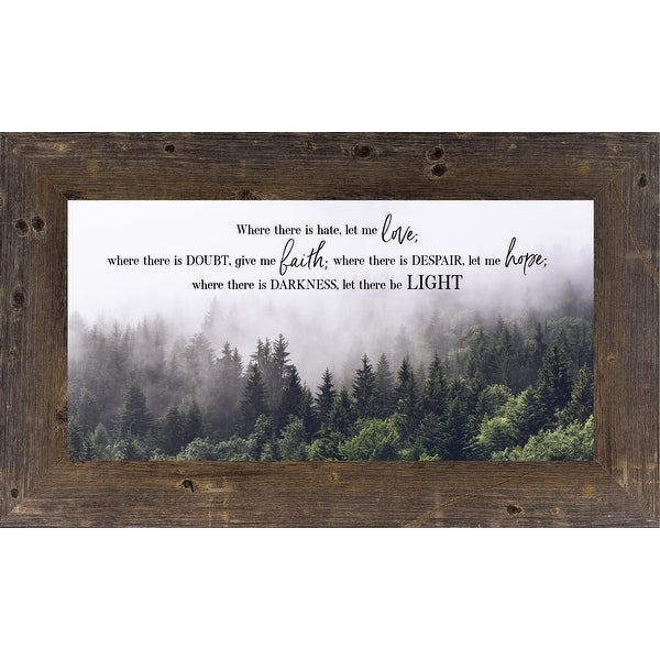Where There Is Hate Let Me Love, Faith, Hope and Light Religious Decor Art. Opens flyout.