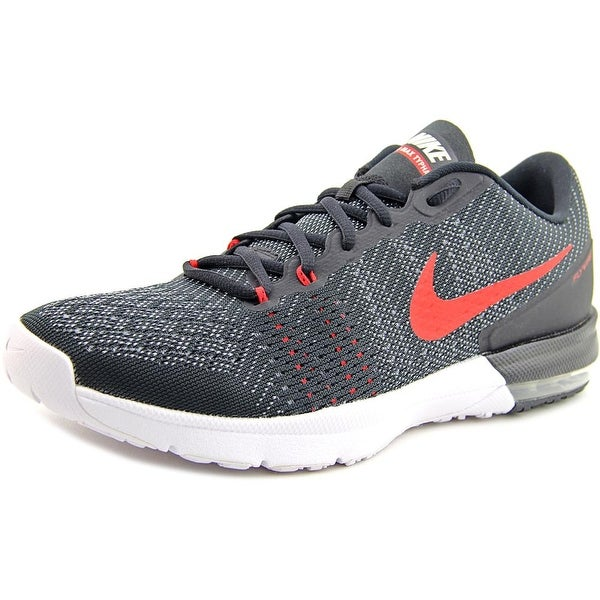affe31e45358 Shop Nike Air Max Typha Men Round Toe Synthetic Black Sneakers - Free  Shipping Today - Overstock - 14039855