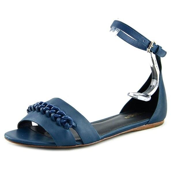 Coach Seabreeze Women Open-Toe Synthetic Blue Slingback Sandal