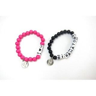Jojo Siwa 2-Pack BFF Beaded Friendship Bracelets