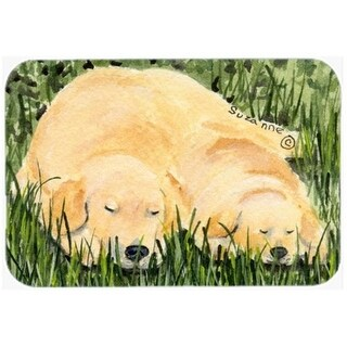 Carolines Treasures SS8838CMT 20 x 30 in. Golden Retriever Kitchen Or Bath Mat