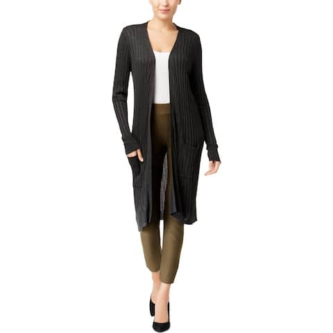 Joseph A Womens Cardigan Sweater Duster Open Front