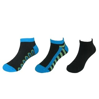Beverly Hills Polo Club Boy's Low Cut Athletic Socks (3 Pair Pack)