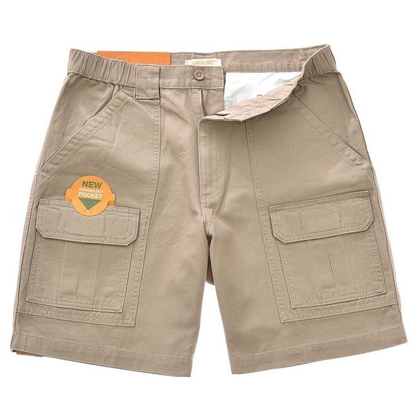 dd67c471ba Shop Savane Men's Comfort Hiking Cargo Shorts - Free Shipping On Orders  Over $45 - Overstock - 20092579