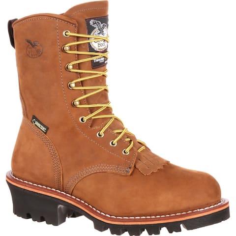 Georgia Logger Insulated GORE-TEX® Steel Toe Work Boots, #G9382