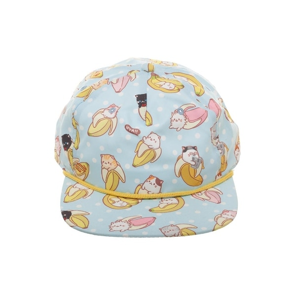 huge selection of cc538 6c25e Shop Bananya All-Over Sublimated Print Snapback Hat - Free Shipping On  Orders Over  45 - Overstock - 22052821