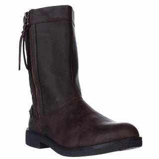 Rocket Dog Tipton Quilted Mid-Calf Boots - Brown