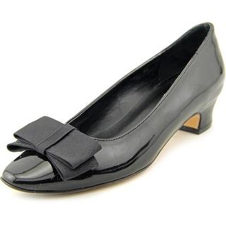 Vaneli Austine Women W Round Toe Patent Leather Heels