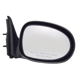 Pilot Automotive TYC 5700131 Black Passenger/ Driven Side Power Non-Heated Replacement Mirror for Nissan Altima