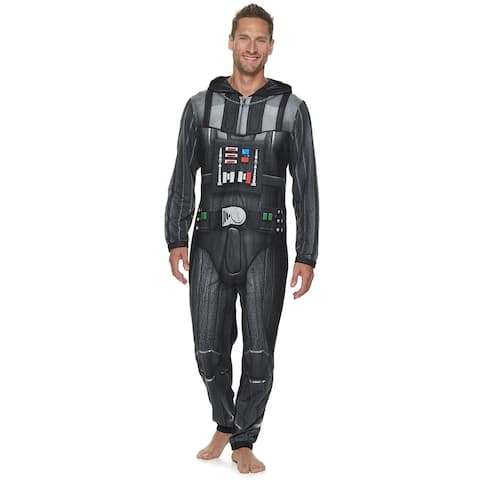 Star Wars Darth Vader Men's Hooded Union Suit
