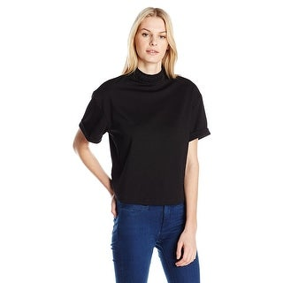 GUESS Aubrielle Braided Neck Top Shirt - m