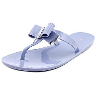 Michael Michael Kors Kayden Jelly   Open Toe Synthetic  Thong Sandal