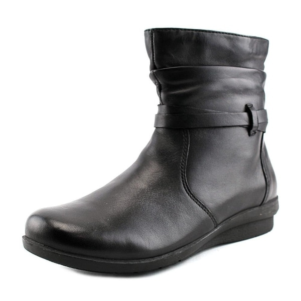 ARRAY Womens Erin Leather Closed Toe Ankle Fashion Boots - 6