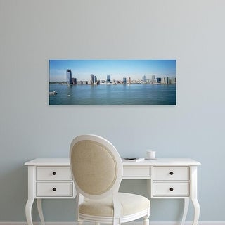 Easy Art Prints Panoramic Images's 'Skyline New Jersey' Premium Canvas Art