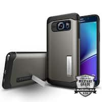 Spigen Slim Armor Case for Samsung Galaxy Note 5 - Gunmetal