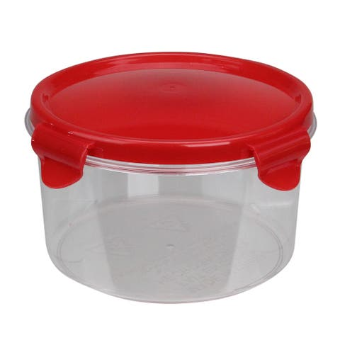 """6"""" Resealable Sugar Storage Container with Attached Lid"""