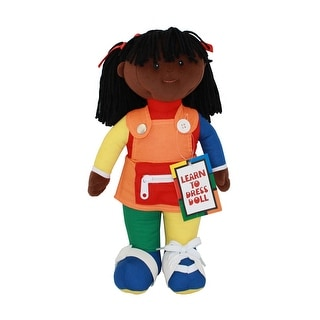 Learn To Dress Doll Black Girl