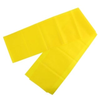 Gym Training Workout Yoga Pilates Stretch Resistance Band Yellow 1.8M Length